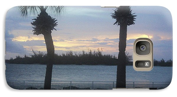 Galaxy Case featuring the photograph Evening At Fort Pierce Inlet by Megan Dirsa-DuBois