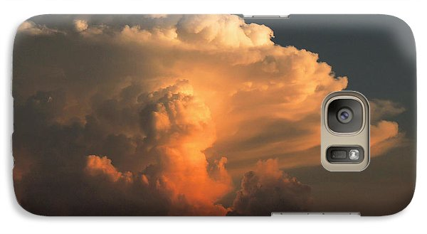 Galaxy Case featuring the photograph Evening Buildup by Charlotte Schafer
