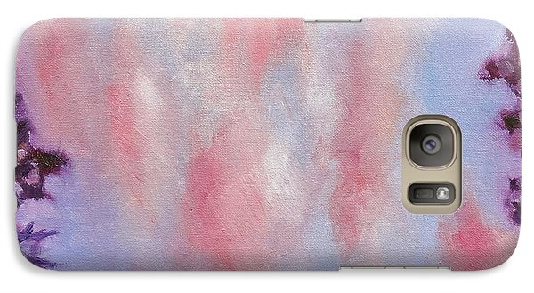 Galaxy Case featuring the painting Evening Clouds by Jason Williamson