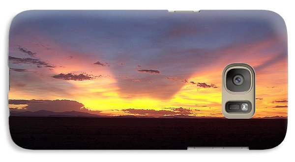 Galaxy Case featuring the photograph Evening Glow by Sheri Keith