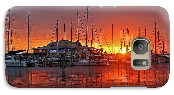 Galaxy Case featuring the photograph Evening Light by HH Photography of Florida