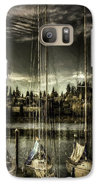 Galaxy Case featuring the photograph Evening Mood by Jean OKeeffe Macro Abundance Art
