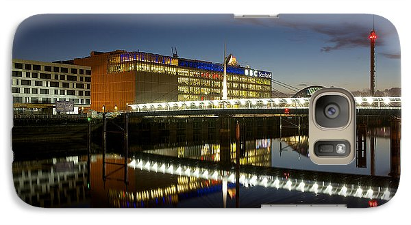 Galaxy Case featuring the photograph Evening On The Clyde by Stephen Taylor