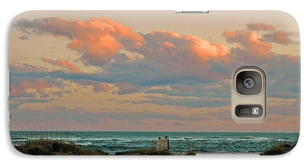 Galaxy Case featuring the photograph Evening Pastel by Allen Carroll
