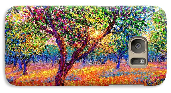 Impressionism Galaxy S7 Case - Evening Poppies by Jane Small