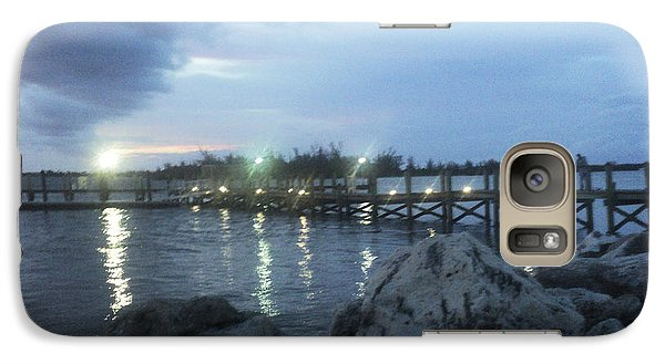 Galaxy Case featuring the photograph Evening Shimmer by Megan Dirsa-DuBois