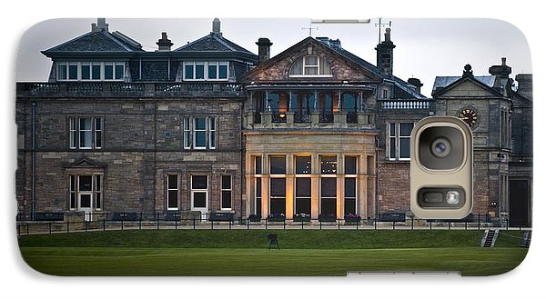 Galaxy Case featuring the photograph Evening St. Andrews by Sally Ross