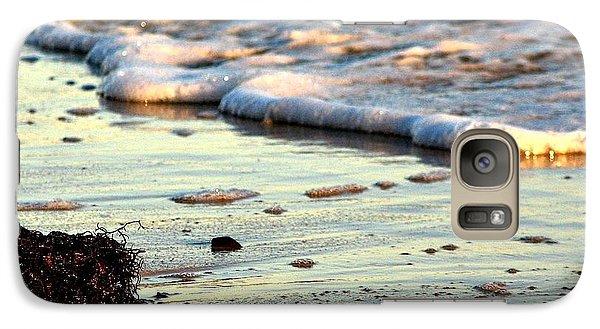 Galaxy Case featuring the photograph Evening Surf by Allen Beilschmidt