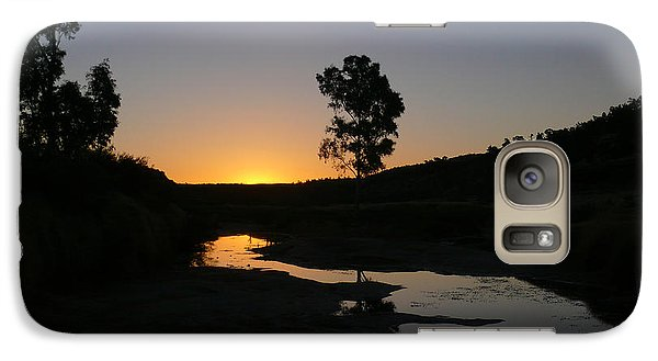 Galaxy Case featuring the photograph Evening Wonderland by Evelyn Tambour