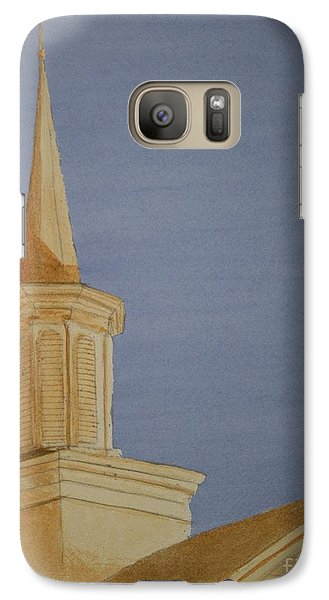 Galaxy Case featuring the painting Evening Worship by Stacy C Bottoms