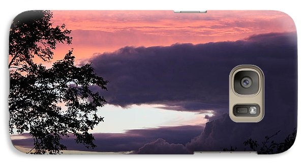 Galaxy Case featuring the photograph Evening's Colours by Patricia Hiltz
