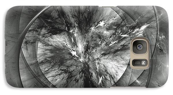 Galaxy Case featuring the digital art Event Horizon by Arlene Sundby