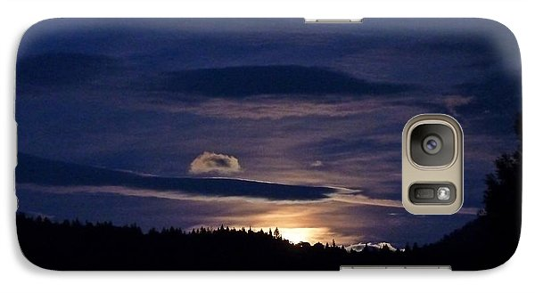 Galaxy Case featuring the photograph Event Rising by Julia Hassett