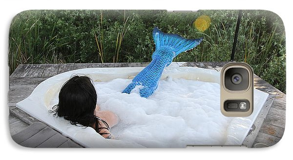 Galaxy Case featuring the photograph Everglades City Florida Mermaid 017 by Lucky Cole