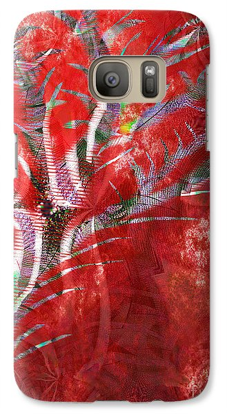 Galaxy Case featuring the painting Can't Hide Love by Yul Olaivar