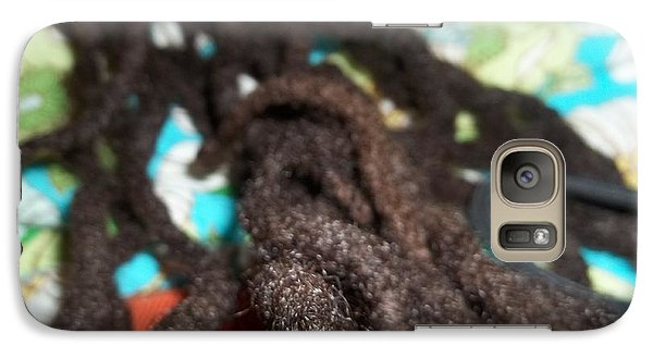Galaxy Case featuring the photograph Every String Of My Hair by Fania Simon
