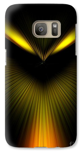 Galaxy Case featuring the photograph Evil Eye by Trena Mara