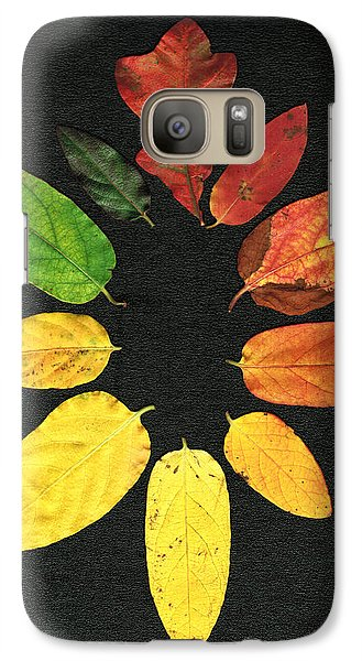 Galaxy Case featuring the digital art Evolution Of Autumn Bk by Pete Trenholm