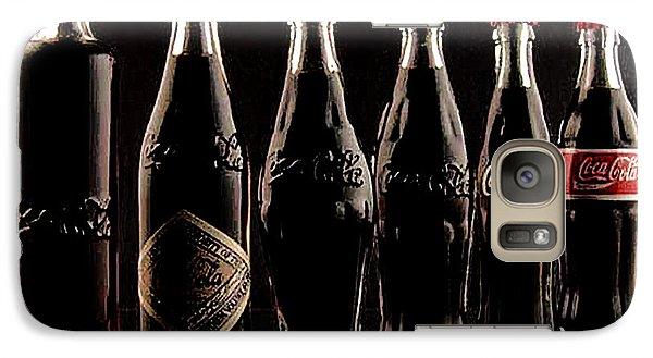 Galaxy Case featuring the photograph Evolution Of Coca Cola Tm by Merton Allen