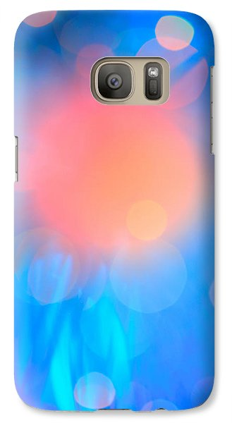 Galaxy Case featuring the photograph Evolution Orange by Dazzle Zazz