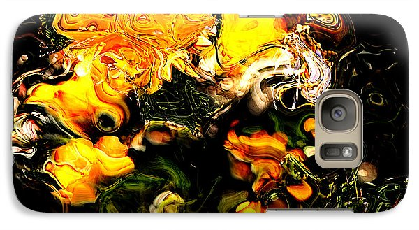 Galaxy Case featuring the digital art Ex Obscura by Richard Thomas