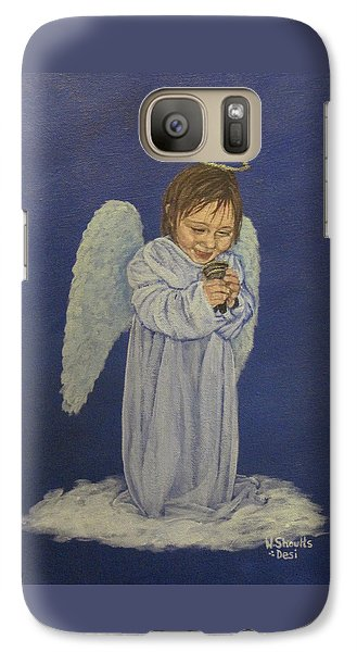 Galaxy Case featuring the painting Excitement by Wendy Shoults