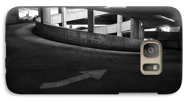 Galaxy Case featuring the photograph Exit Only by Luis Esteves