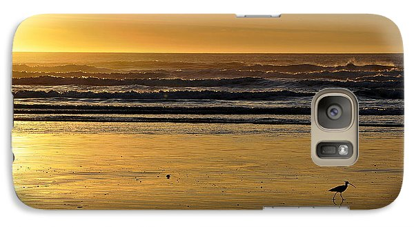 Galaxy Case featuring the photograph Exit Stage Right by AJ  Schibig