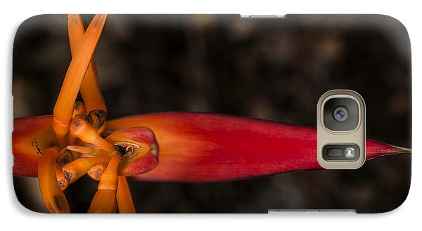 Galaxy Case featuring the photograph Exotic Heliconia by Steven Sparks