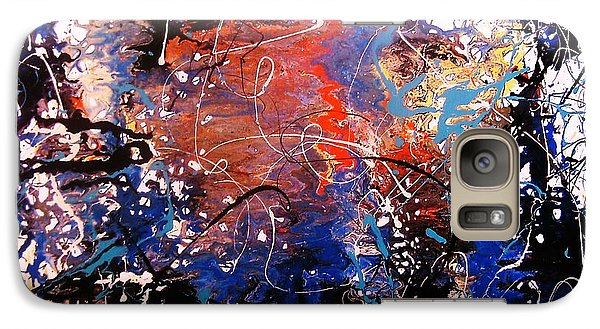 Galaxy Case featuring the painting Exotic Zone by Roberto Prusso