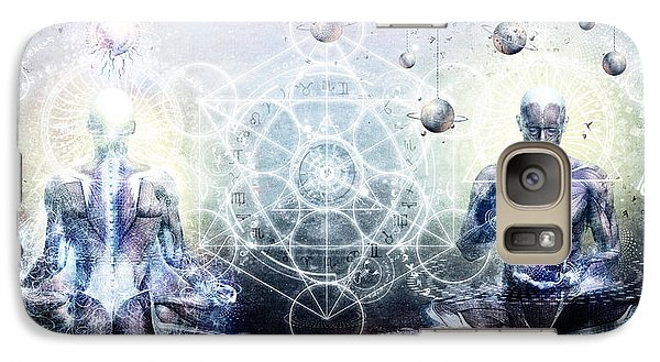 Experience So Lucid Discovery So Clear Galaxy Case by Cameron Gray
