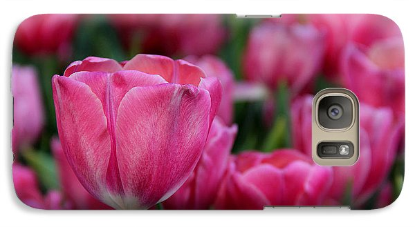 Galaxy Case featuring the photograph Explosion Of Pink by Tammy Espino