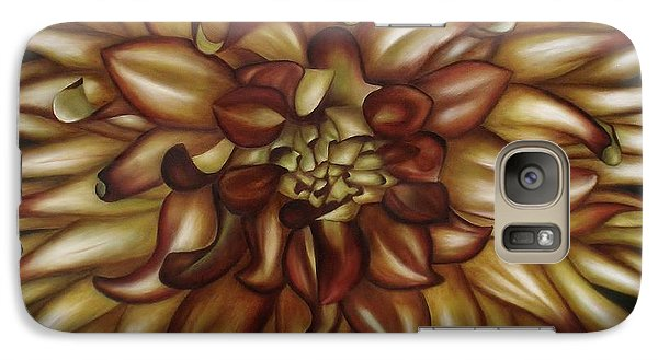 Galaxy Case featuring the painting Explosion by Paula L
