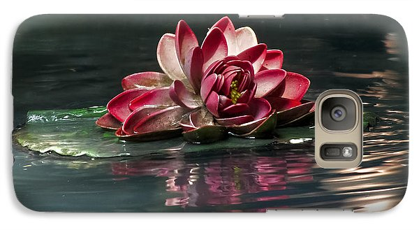 Galaxy Case featuring the photograph Exquisite Water Flower  by Lucinda Walter