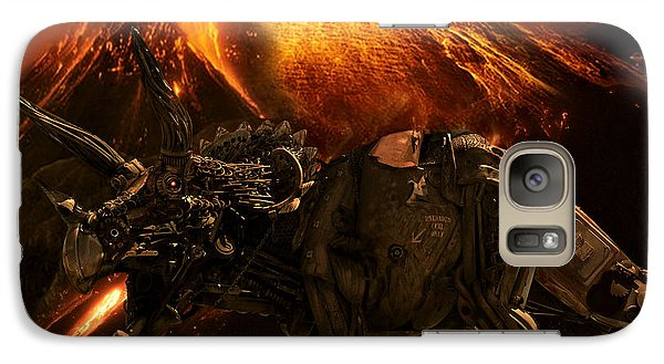 Galaxy Case featuring the photograph Extinction    The Second Coming by Jeremy Martinson