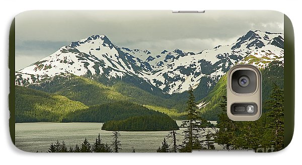Galaxy Case featuring the photograph Eyak Lake Landscape by Nick  Boren