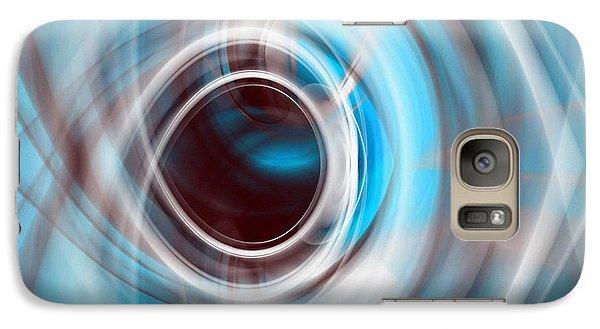 Galaxy Case featuring the digital art Eye Eye by rd Erickson