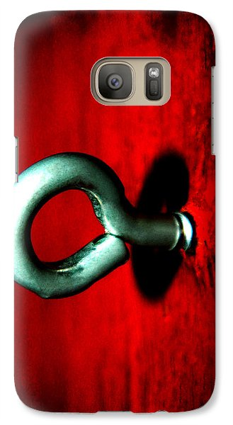 Galaxy Case featuring the photograph Eye Hook by Ester  Rogers