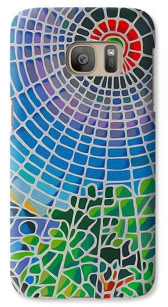 Galaxy Case featuring the digital art Eye Of God by Anthony Mwangi