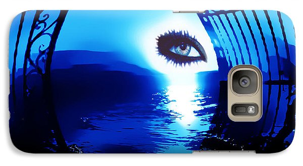 Galaxy Case featuring the digital art Eye Of The Beholder by Eddie Eastwood
