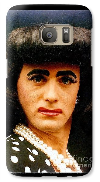 Galaxy Case featuring the photograph eye see Colours At The Southern Decadence In New Orleans Louisiana by Michael Hoard