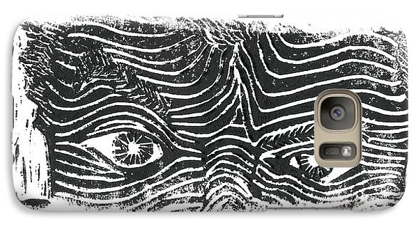 Galaxy Case featuring the relief Eye Spy by Jame Hayes