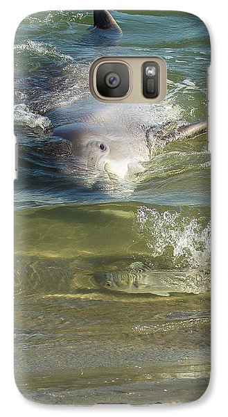 Galaxy Case featuring the photograph Eye Spy by Patricia Schaefer