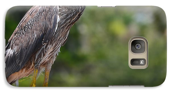 Galaxy Case featuring the photograph Eye To Lens by DigiArt Diaries by Vicky B Fuller