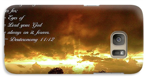 Galaxy Case featuring the photograph Eyes Of God by Robyn Stacey