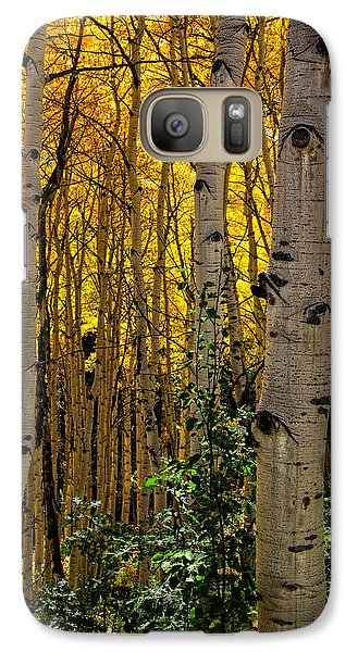 Galaxy Case featuring the photograph Eyes Of The Forest by Ken Smith