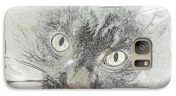 Galaxy Case featuring the photograph Eyes Speak Volumes by Rhonda McDougall