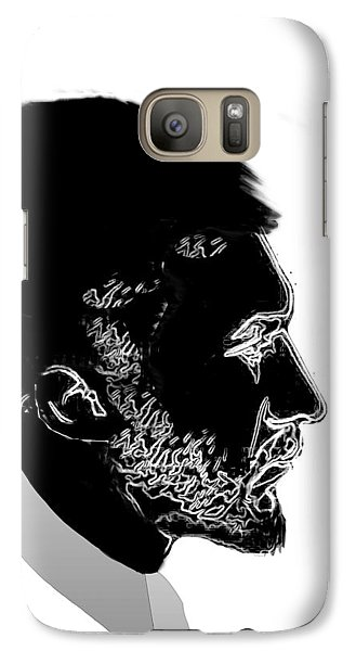 Galaxy Case featuring the digital art Ezra Pound  by Asok Mukhopadhyay