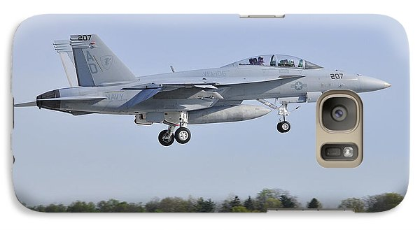Galaxy Case featuring the photograph F/a-18e/f Super Hornet by Dan Myers