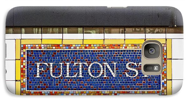 F Is For Fulton Street Galaxy S7 Case